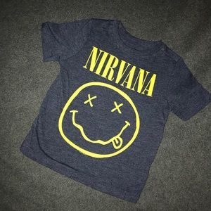 Nirvana Boys Shirt